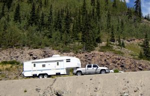 How to Park an RV on a Hill