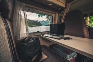 How to Set Up Office in an RV