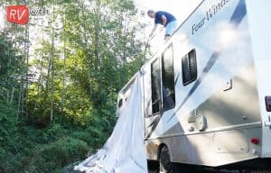Read more about the article Should you cover your RV? (And how to do that)