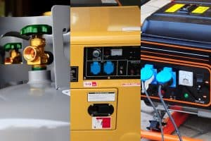 Read more about the article Propane vs. Diesel vs. Gas Generators for RVs (Which Is Best for Your Needs?)