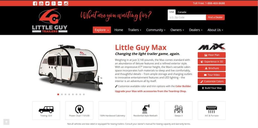 Golittleguy website homepage