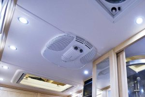How Does the Air Conditioning System Work in an RV?