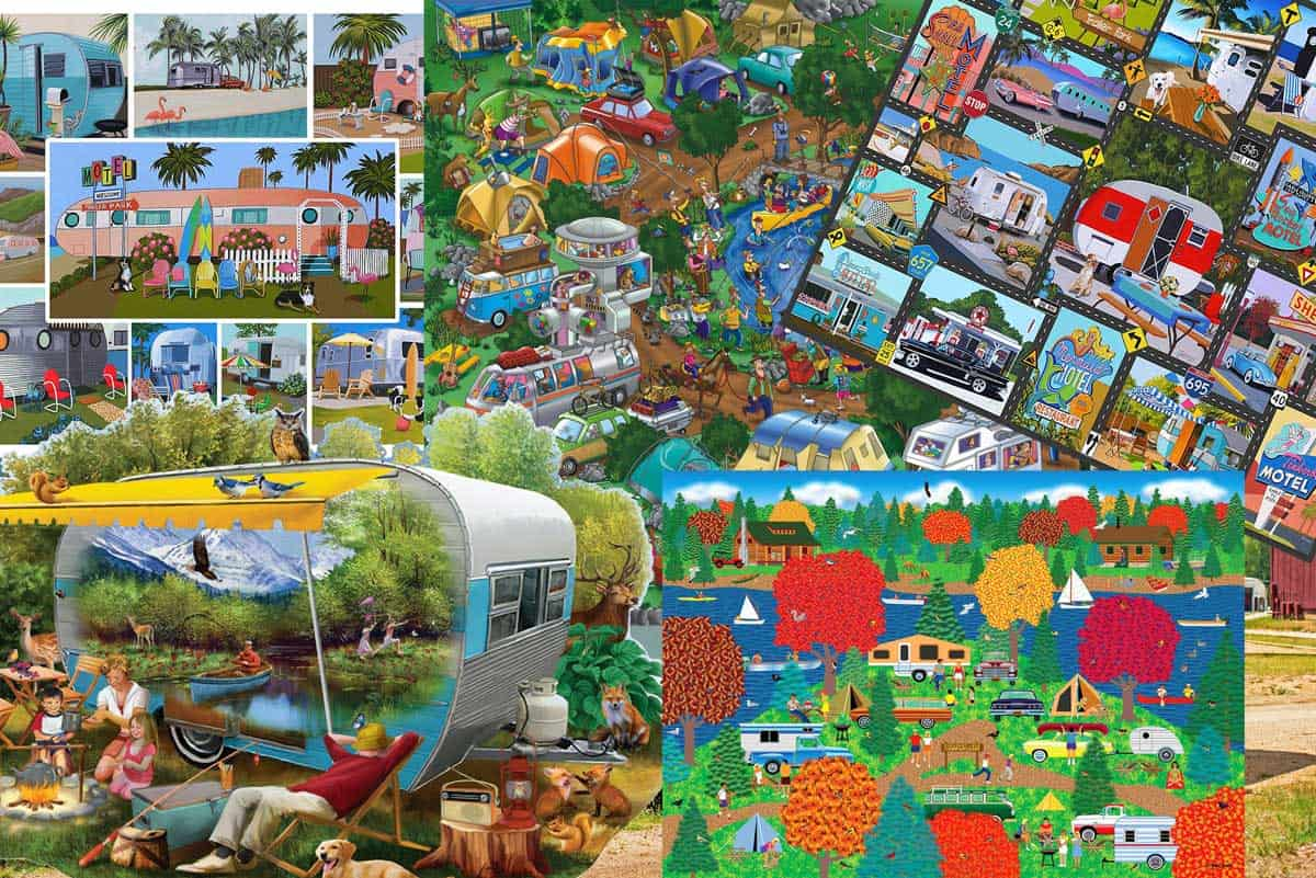Rv Jigsaw Puzzles (6 Fantastic Gift Ideas for RV Lovers!) - Vehicle HQ