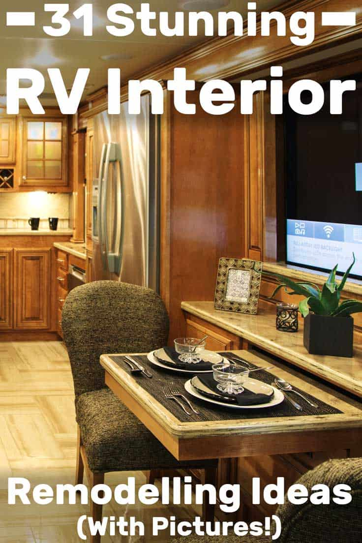 31 Stunning RV Interior Remodelling Ideas (With Pictures!), RV interior design models