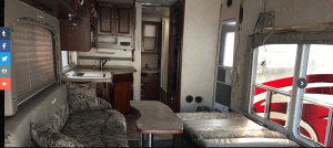 Arizona RV Salvage website product page for furniture