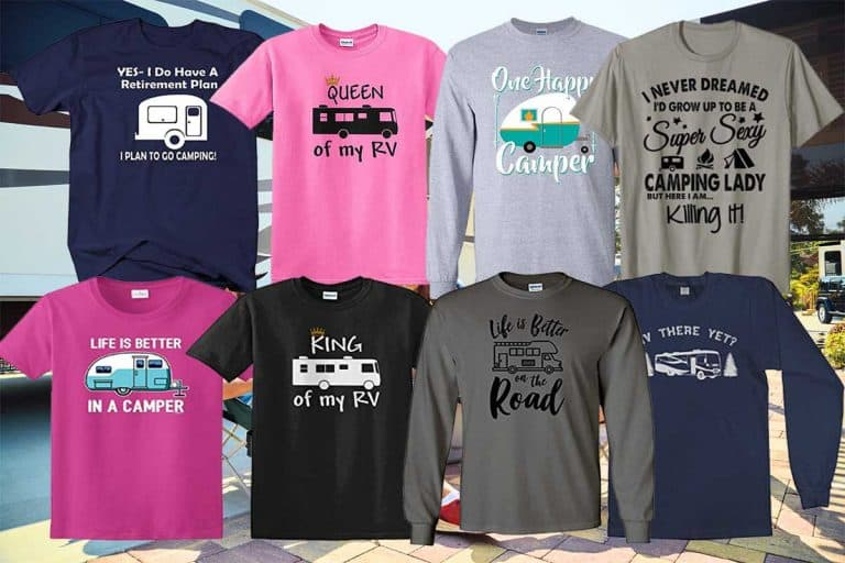 11 Fantastic Tee-Shirts for RV'ers That Really Make a Statement