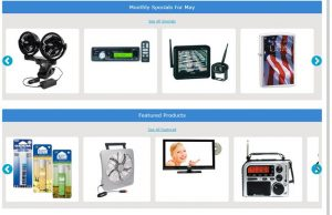 12 Volt Travel's website product page for RV Parts