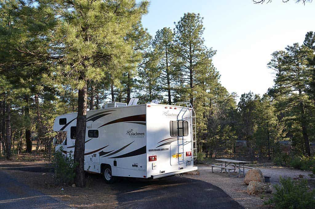 Mather Campground Tent Site