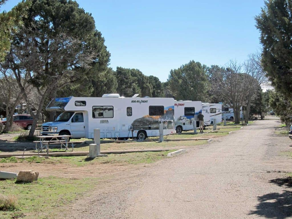 Grand Canyon National Park Trailer Village (South Rim) 2784