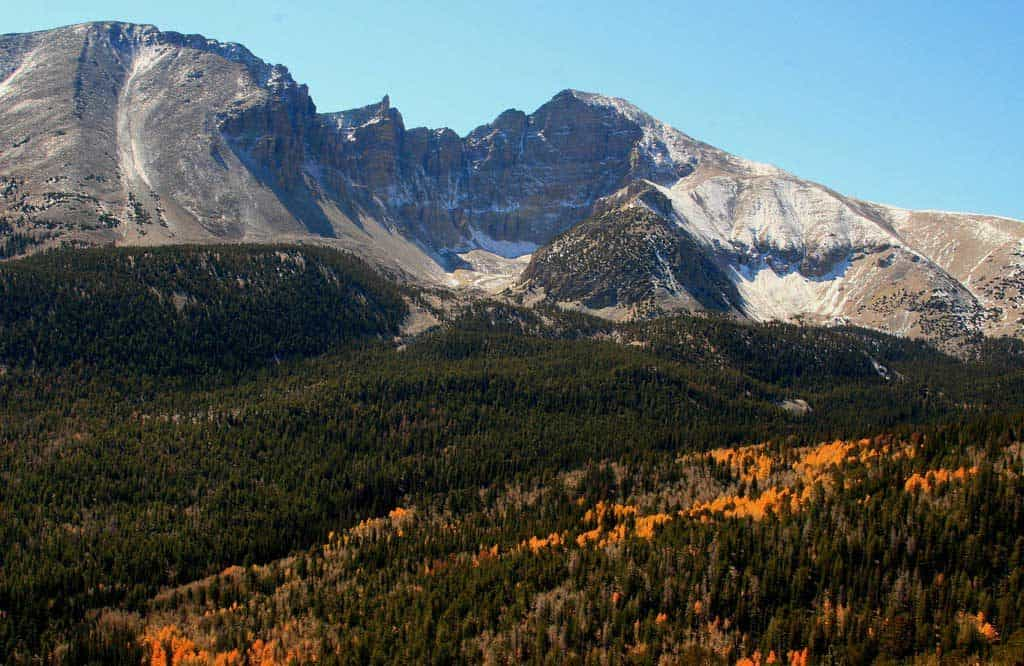 Mountains in Great Basin National Park