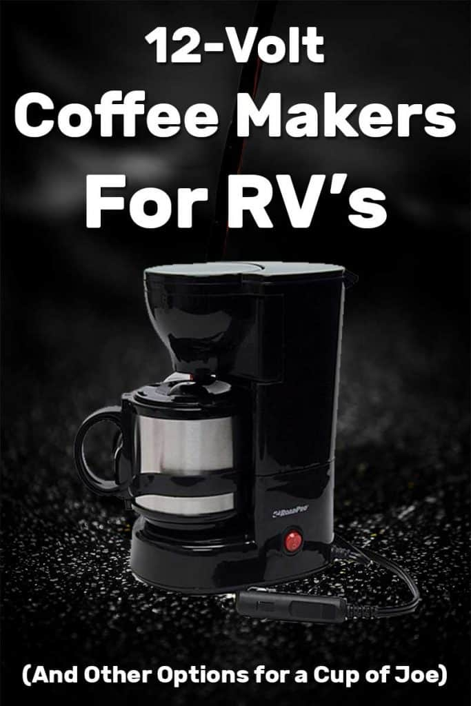 12 V One Cup Coffee Maker car Van Caravan Camping