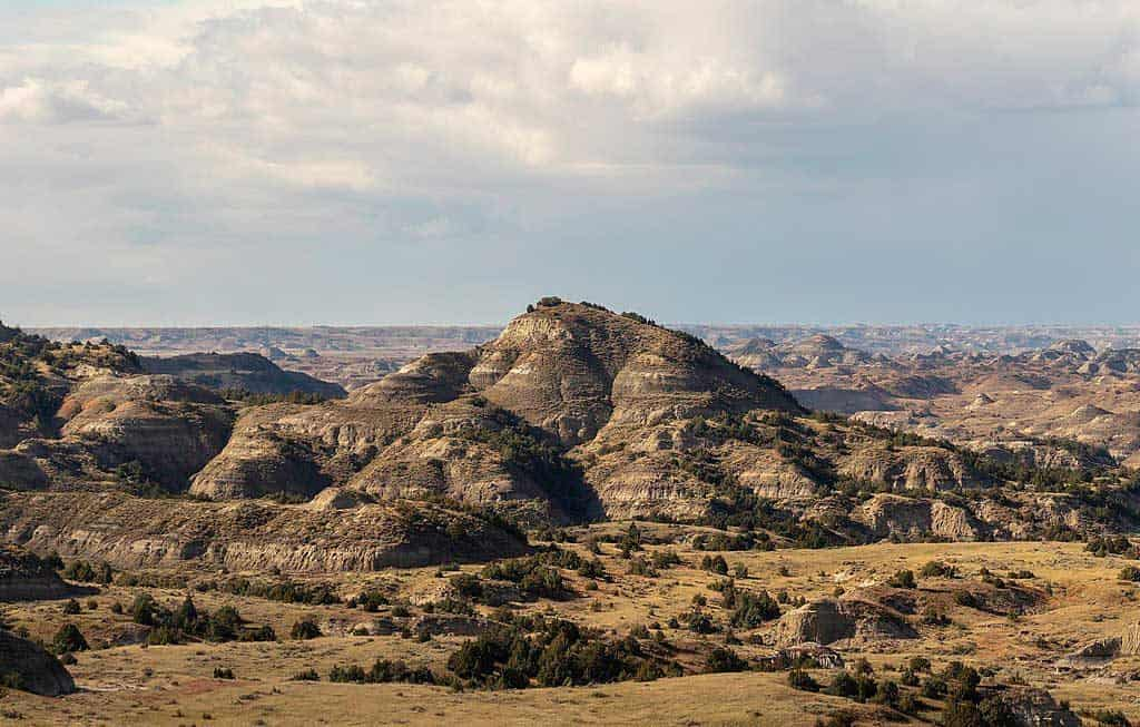 Theodore Roosevelt National Park at the Painted Canyon visitor center, North Dakota, USA