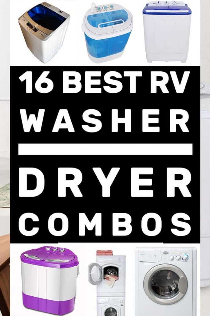 16 Best RV Washer-Dryer Combos