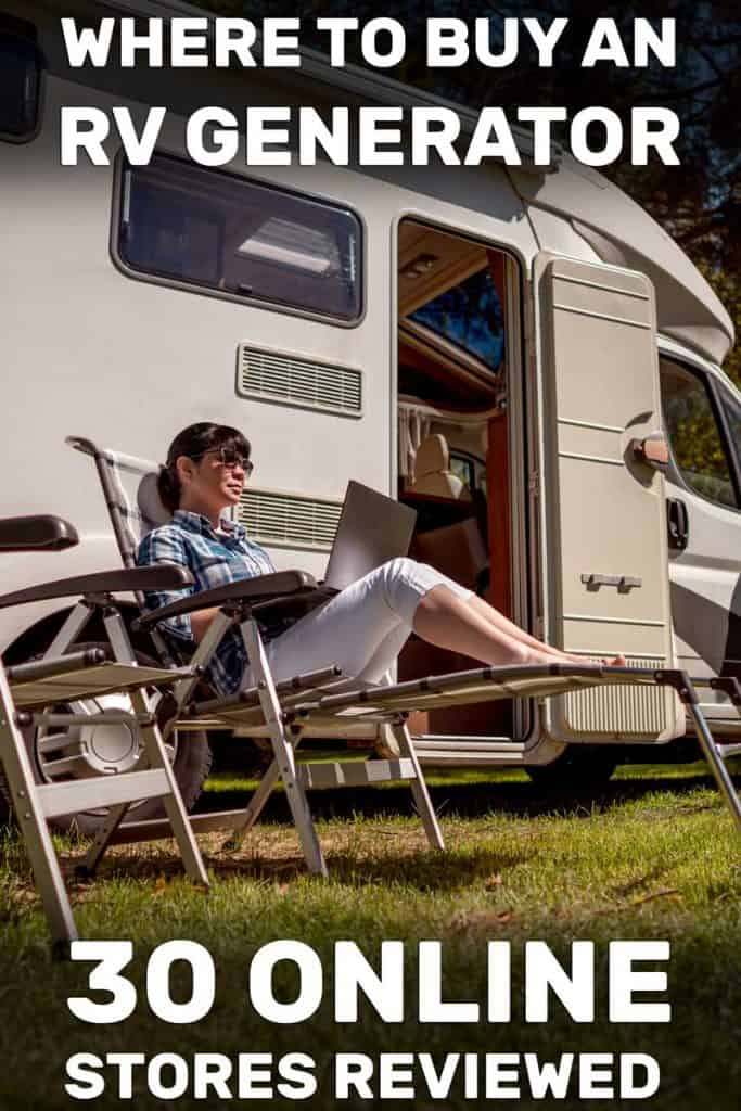 Where To Buy An RV Generator? (30 Online Stores Reviewed)