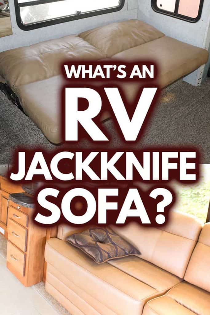 What's an RV Jackknife Sofa? (Including 5 examples)