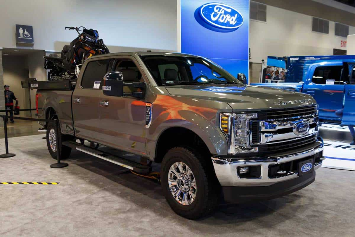 Ford F350, taken at 2019 Vancouver Auto Show