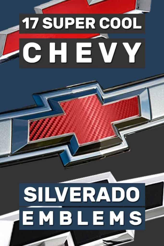 17 Super Cool Chevy Silverado Emblems