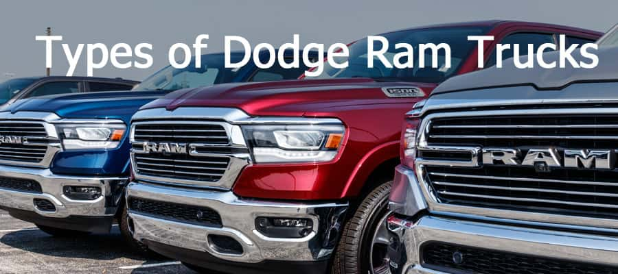 5 Types Of Dodge Trucks You Should Know