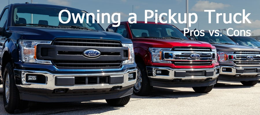 Pickup truck ownership pros and cons - know before you buy