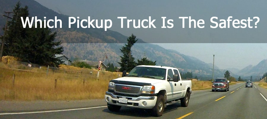 Which is the safest pickup truck?