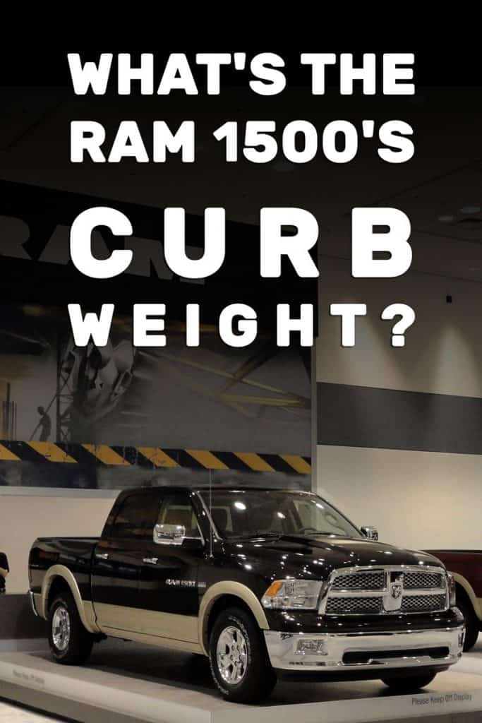 What's the Ram 1500's Curb Weight
