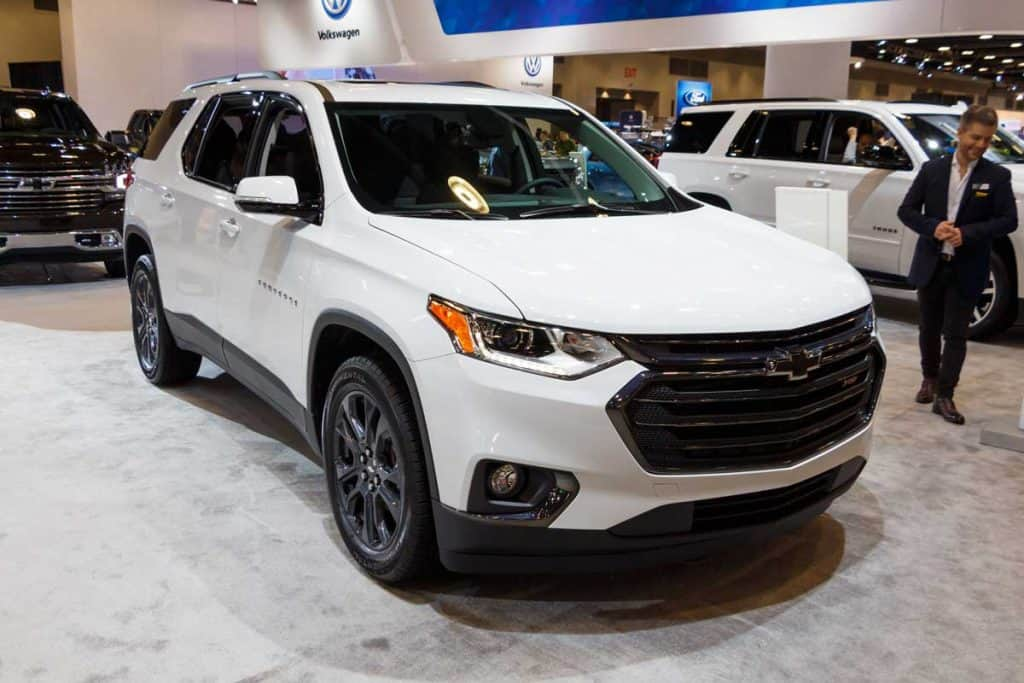 2019 Chevrolet Traverse on carshow