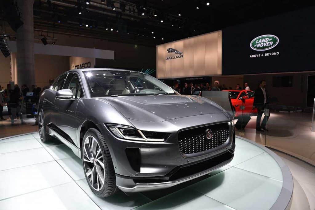 2020 Jaguar I-Pace at Car show