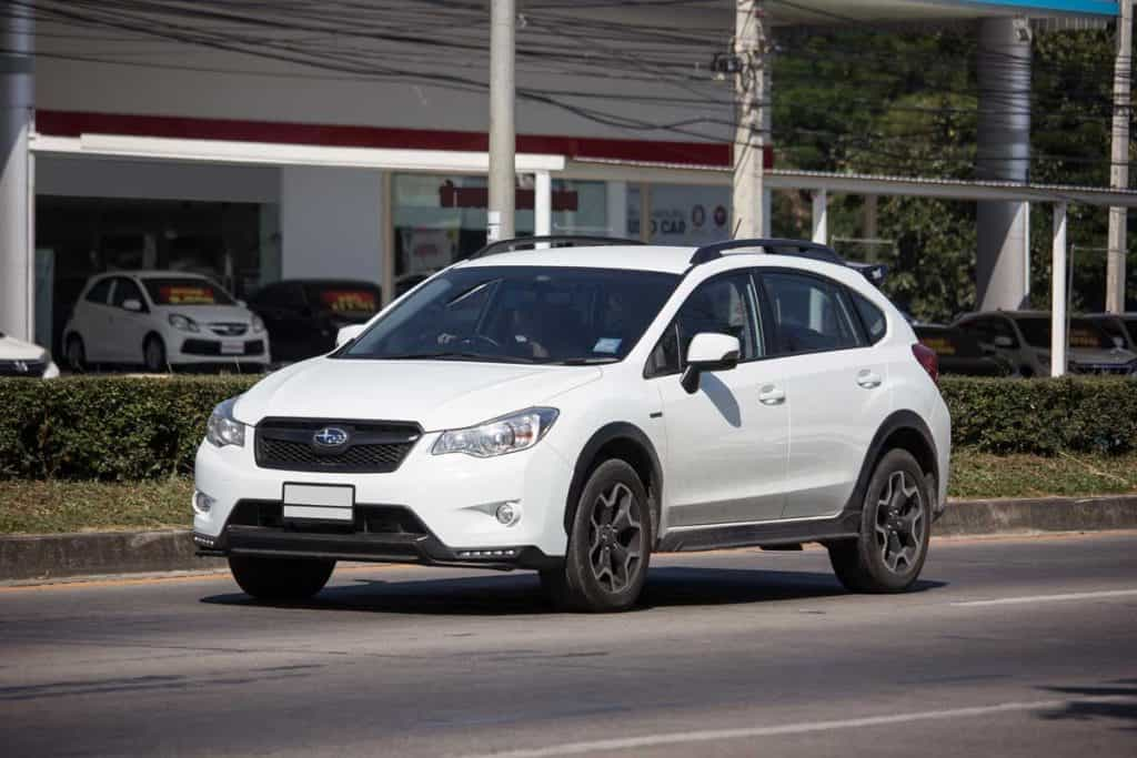 2019 Subaru Crosstrek Hybrid on road