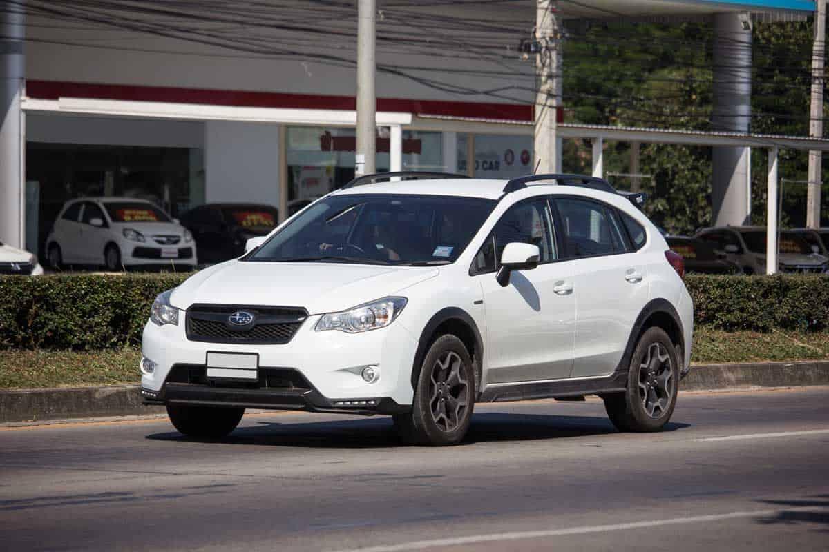 2019 Subaru Crosstrek Hybrid on road