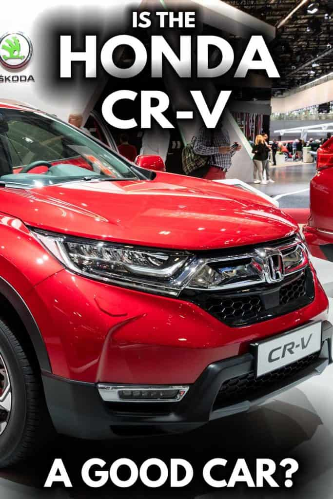 Is the Honda CR-V a good car?
