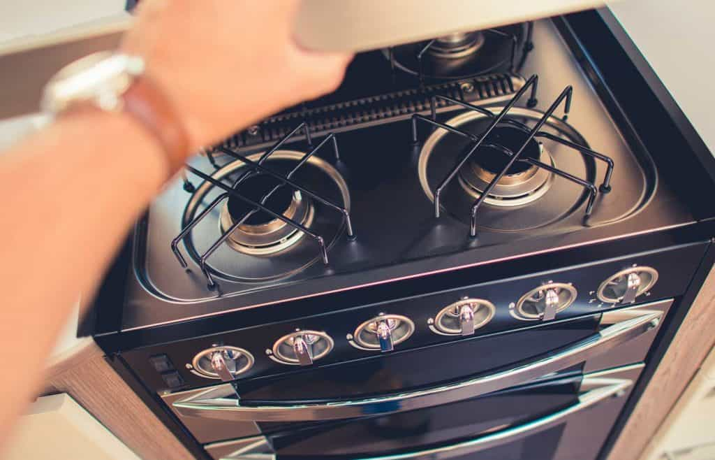RV propane stove