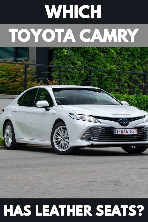 Which Toyota Camry Has Leather Seats?