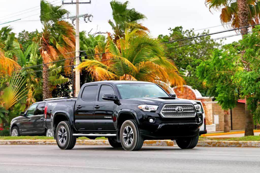 Black Toyota Tacoma