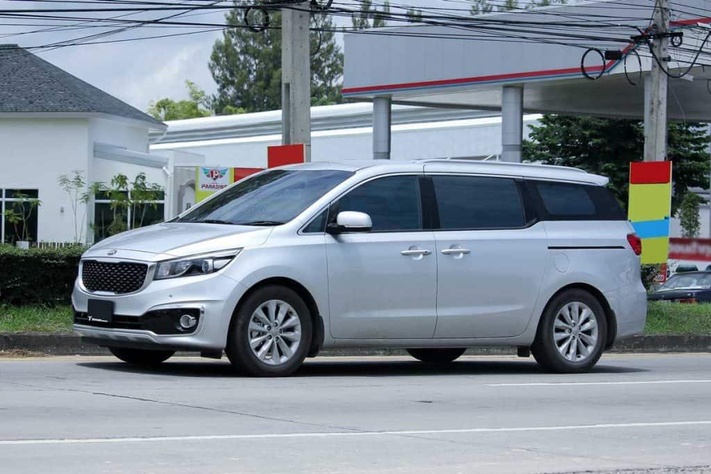 Silver 2020 Kia Sedona