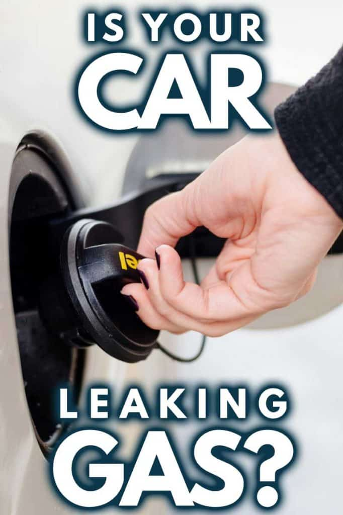 Is Your Car Leaking Gas? (And what should you do about it)