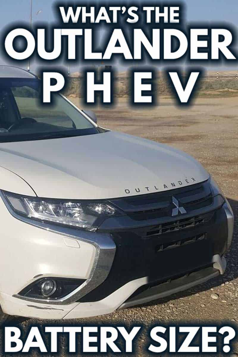 What's The Outlander PHEV Battery Size?