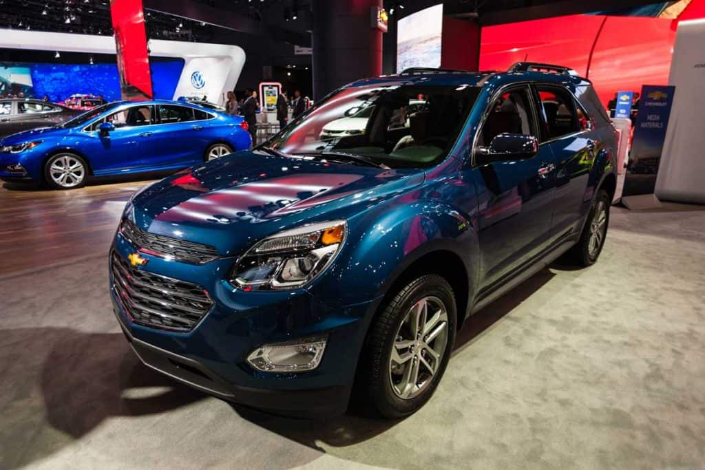 Is the Chevy Equinox AWD?