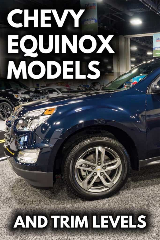 TOYOTA EQUINOX MODELS AND TRIM LEVELS