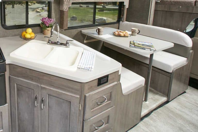 RV's with a Kitchen Island [Pros, Cons & 7 Examples]
