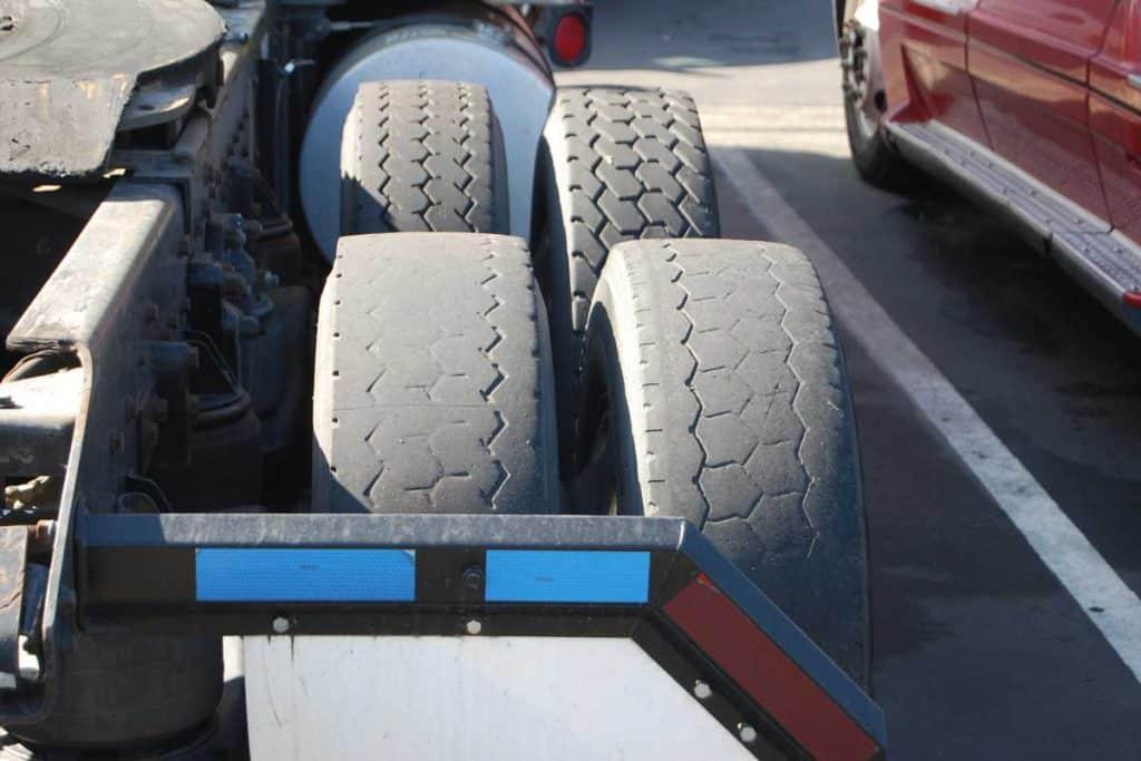 Bald trailer tires