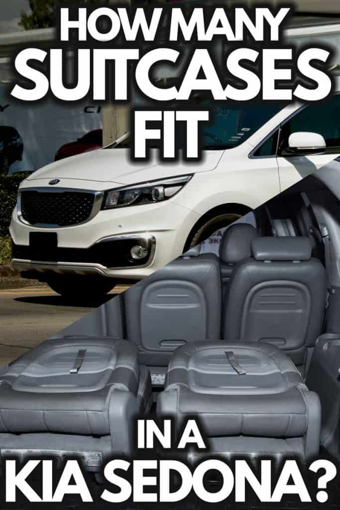 How Many Suitcases Fit in a Kia Sedona?