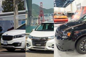 Honda Odyssey vs Kia Sedona vs Toyota Sienna