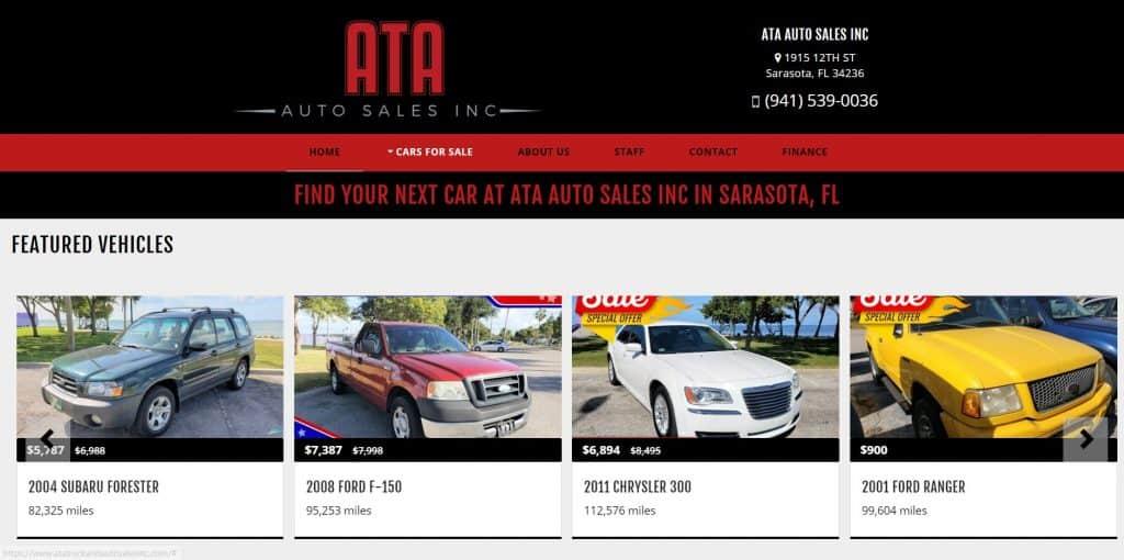 ATA Auto Sales, Inc.