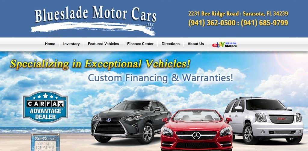 Blueslade Motor cars