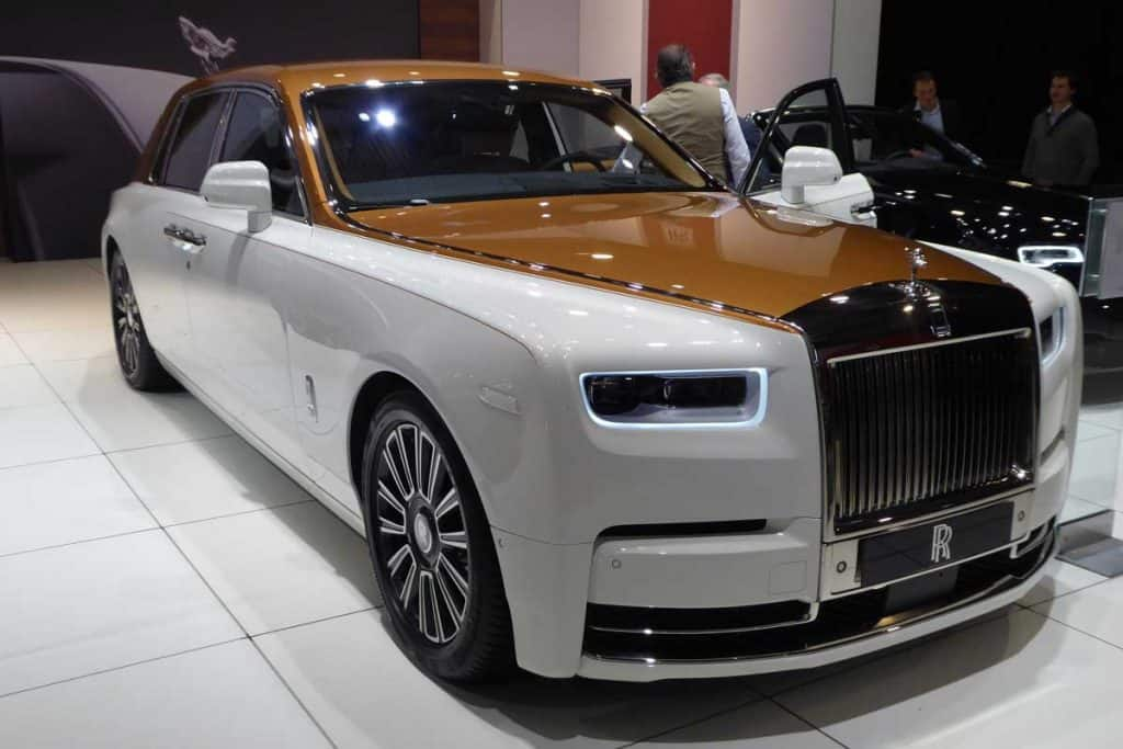 2019 Rolls Royce Phantom at car show