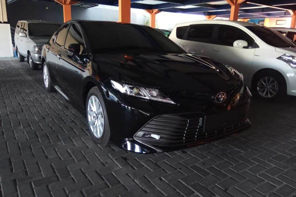 2019 Toyota Camry at Parking lot