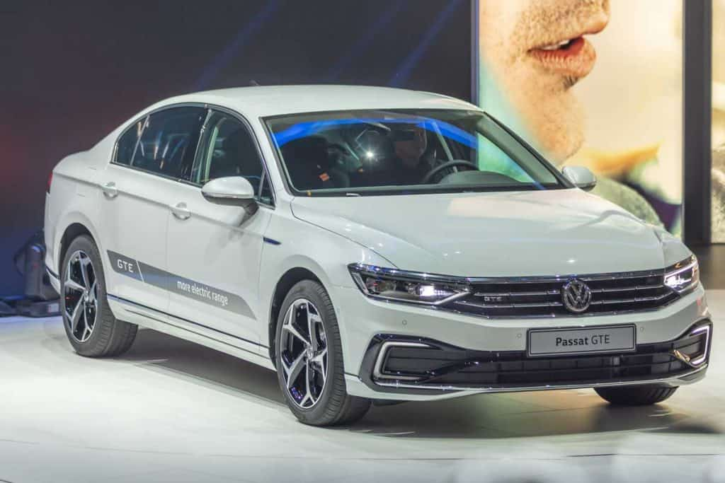 Volkswagen Passat at Car Show