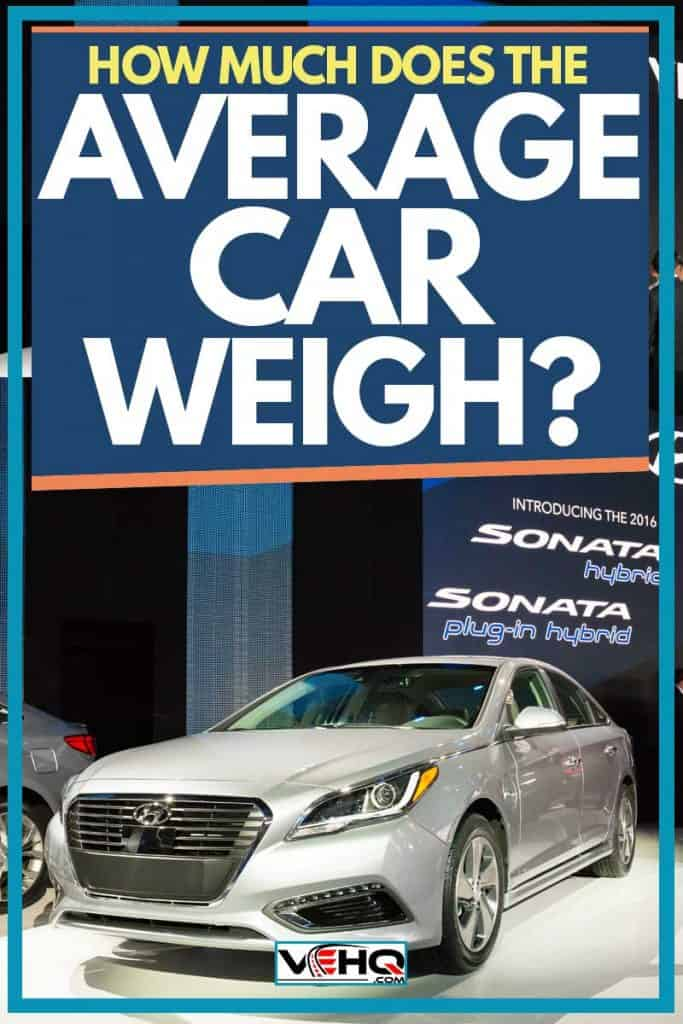 How Much Does The Average Car Weigh?