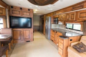 How to Remove the TV in an RV
