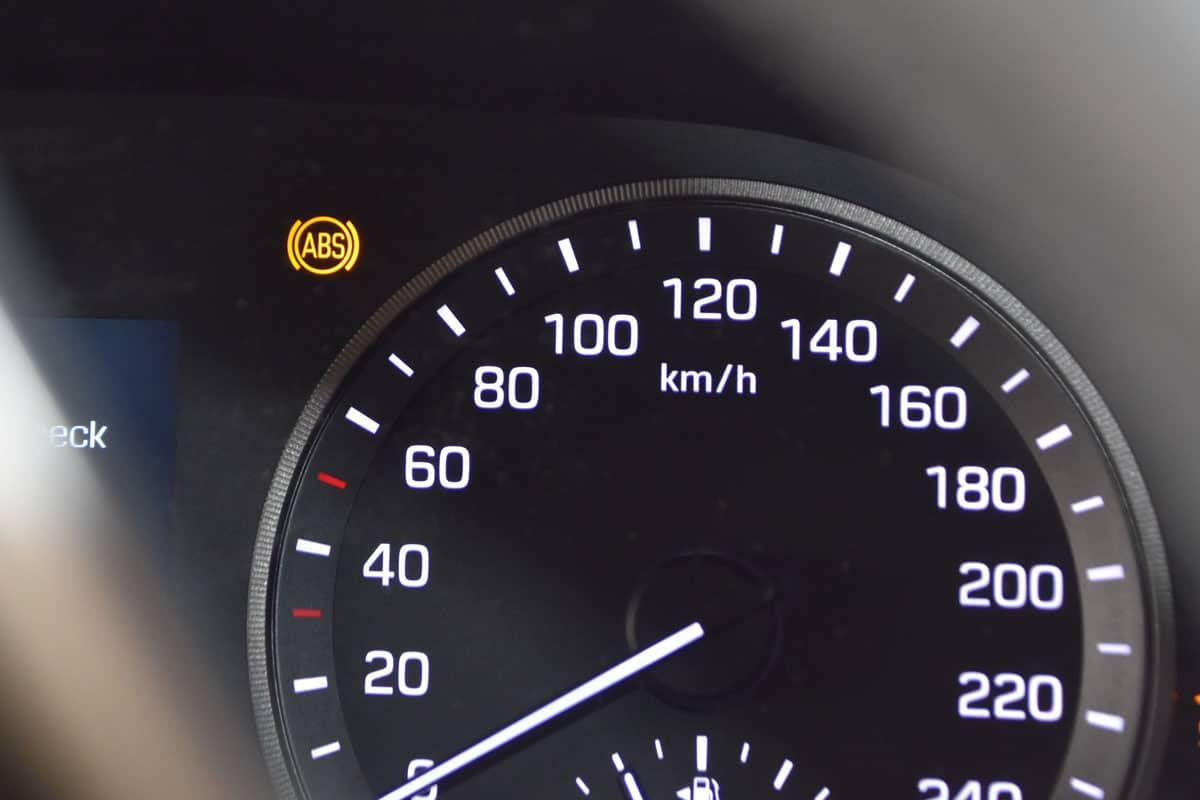 ABS logo, ABS Light, dashboard